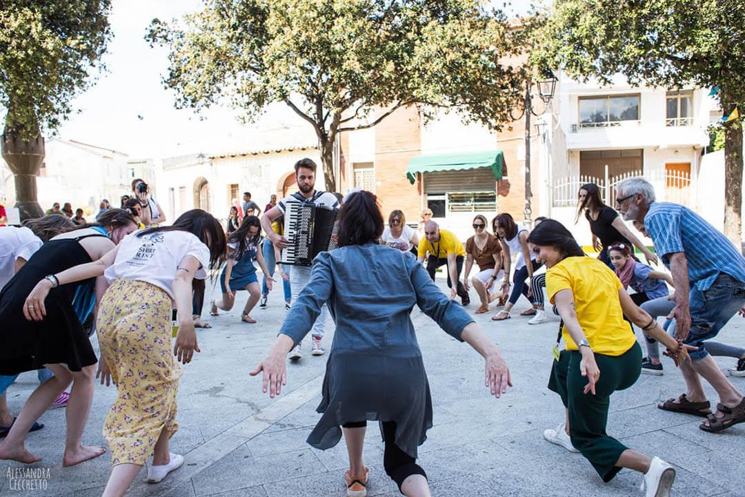 Impulsi, performance partecipativa di Annamarie Cabri in collaborazione con IvyNode ©Alessandra Cecchetto