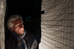 Pinuccio Sciola foto di Attila Kleb
